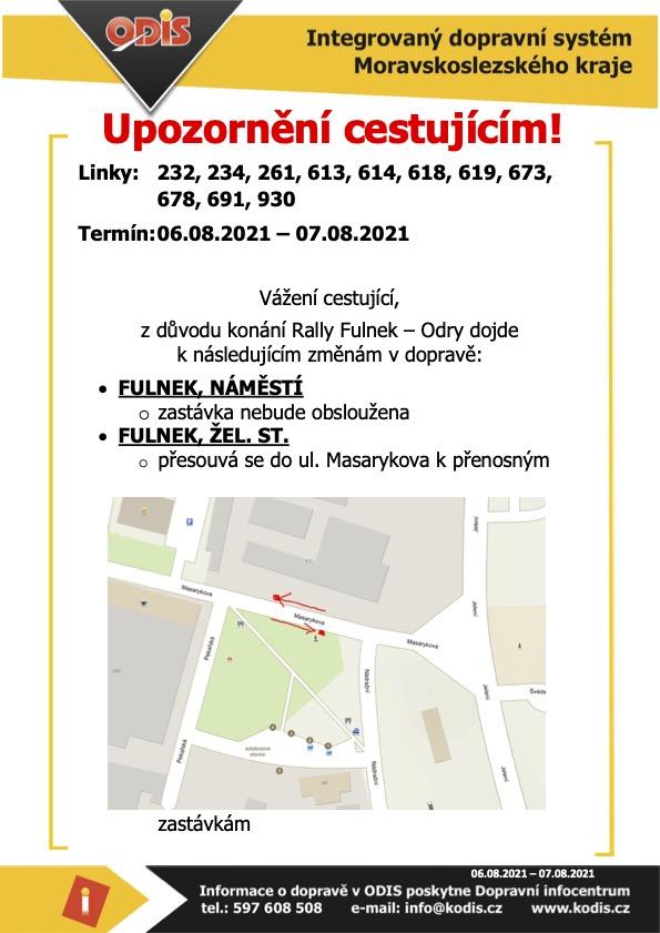 Upozorneni-cestujicim-Rally-Fulnek-Odry1