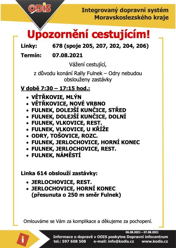 Upozorneni-cestujicim-Rally-Fulnek-Odry3